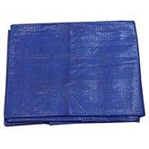 Lona Polietileno Reforçada Azul 5 x 4 m - BELTOOLS-60332