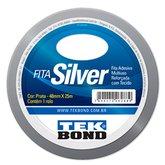 Fita Silver Prata 48mm x 25m - TEKBOND-21181048600
