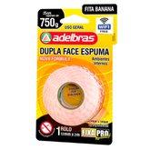Fita Dupla Face Espuma 12mm x 2m Fixa Pro