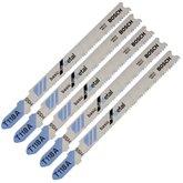 Lâminas de Serra Tico Tico HSS para Metal com 5 Peças - T 118 A - BOSCH-2608668145