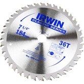 Disco de Serra Circular para Máquinas Portáteis 7.1/4 Pol 36D 20 mm - IRWIN-014108