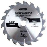 Disco de Serra Circular de 7.1/4 Pol. para Madeira - 18 Dentes - UYUSTOOLS-DMD718