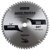 Disco de Serra Circular de 14Pol. para Madeira - 60 Dentes - UYUSTOOLS-DMA614
