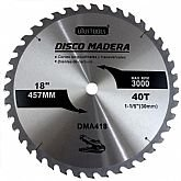 Disco de Serra Circular para Madeira 40 Dentes 18 Pol. - UYUSTOOLS-DMA418