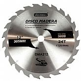 Disco de Serra Circular de Wídea 12 Pol. para Madeira - 24 Dentes - UYUSTOOLS-DMA212