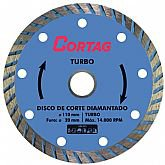 Disco de Corte Diamantado Turbo 110 mm
