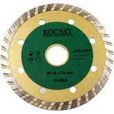 Disco Diamantado Turbo 110 x 20 mm - ROCAST-DISCO110x20