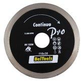 Disco de Corte Diamantado Contínuo Pro de 110 x 20 mm - BELTOOLS-60119