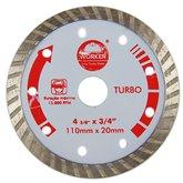 Disco Diamantado Turbo 110 x 20 mm - WORKER-139629