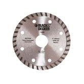 Disco Diamantado Turbo 4 Pol. - BLACKDECKER-BD47400L