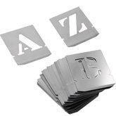 Alfabeto de Chapa Vazada 50 mm - NOLL-1360008