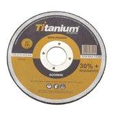 Disco de Corte Fino 4.1/2 Pol. Super Premium - TITANIUM-5047