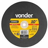 Disco de Corte 254 x 3,2 x 15,87mm G30 para Aço e Metais Ferrosos - VONDER-1215101858
