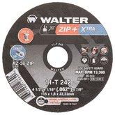 Disco de Corte Zip Xtra 4-1/2 x 1/16 x 7/8 Pol. para Metal e Aço Inox
