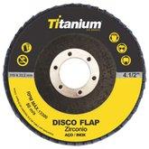 Disco Flap Zircônio 4.1/2 Pol. 115mm Grão 40