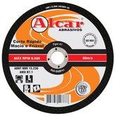 Disco de Corte 115,0 x 1,0 x 22,2 mm para Aço