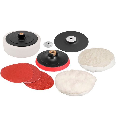 Jogo de Discos para Lixamento e Polimento 7 Pol.
