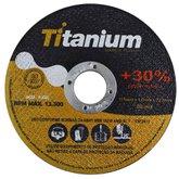 Disco de Corte Fino 4.1/2 x 1,0mm x 7/8 Pol. - TITANIUM-A46TBF2T