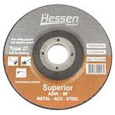 Disco de Desbaste de 4.1/2 Pol. para Metal - HESSEN-19719