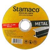 Disco de Corte de 115 x 22,23 mm para Metal - STAMACO-6138