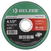 Disco de Corte de 4-1/2 Pol. para Aço Inox - BELZER-1151022BRI