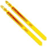 Lâmina de Serra Tico-Tico Bi-Metal com Encaixe Unificado 100mm com 2 Peças 6 Dentes  - STARRETT-BU46-2