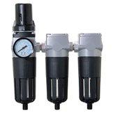 Conjunto Odontológico com Filtro Regulador + Coalescente + Carvão 1/2 Pol. BSP