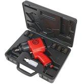 Kit Chave de Impacto Pneumática 1/2 Pol. 450 Nm com Soquetes e Maleta - CHICAGO-CP7620KM