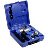 Kit Chave de Impacto Pneumática 1/2 Pol. com 15 Acessórios