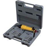 Kit Parafusadeira de Impacto Reta Pneumática 1/4 Pol. com Acessórios - PUMA-AT-4060K