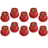 Kit Bico Leque Vermelho 11004 com 10 Unidades
