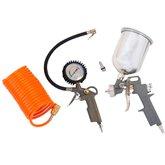 Kit Acessórios para Motocompressor com 4 Peças - LYNUS-1785.5