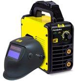 Kit Inversora de Solda ESAB-0734001 HandyArc 130A 110V + Máscara para Solda com Sensor de Escurecimento