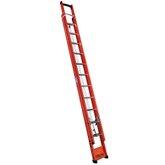 Escada Extensível Vazada em Fibra de Vidro 21 Degraus 3,90 x 6,60M