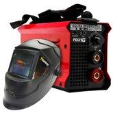 Kit Máquina de Solda Inversora FORTGPRO FG4514 MMA170iP 170A Bivolt + Máscara de Solda Automática TITANIUM 5242