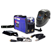 Kit Máquina Inversora de Solda BOXER FLAMA221 220V 220A + Máscara de Solda Automática TITANIUM 5242