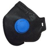 Máscara Respiradora Semifacial PFF2  com Válvula e Carvão Ativado