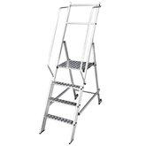 Escada Plataforma Podium Dobrável 3 Degraus 250Kg