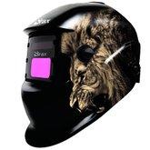 Máscara de Solda Automática Leão com Regulagem 9 a 13