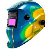 Máscara de Solda Automática Brasil com Regulagem 9 a 13
