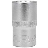 Soquete Estriado 16mm CRV com Encaixe 1/2 Pol.
