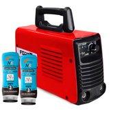 Kit Máquina de Solda FORTGPRO-FG4131 MMA140i e TIG Lift Multifuncional + 2 Cremes Protetor Luva Química NUTRIEX-0063651 200g