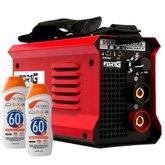 Kit Máquina de Solda Inversora FORTGPRO-FG4513 Compacta + 2 Protetores Solar NUTRIEX-60962 120ml