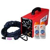 Kit Máquina de Solda Multifuncional FORTGPRO-FG4313 Inversora TIG e MMA  + 2 Protetores Solar NUTRIEX-60962 120ml