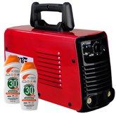 Kit Máquina de Solda FORTGPRO-FG4123 Inversora Multifuncional 110/220V + 2 Protetores Solar NUTRIEX-60988 120 ml