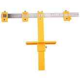 Marcador de Múltiplos Furos 40 x 30 cm para Portas e Gavetas