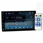 Central Multimídia MP5 com Bluetooth e Espelhamento 7Pol.
