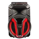 Caixa de Som Amplificada 700rms Bivolt com Bluetooth e Rádio FM
