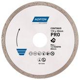 Disco de Corte Diamantado Pro Contínuo 110x20mm