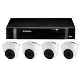 Kit Gravador Digital de Vídeo Multi HD  MHDX INTELBRAS-4580326 + Câmera InfraMulti HD VHD 20m INTELBRAS-4565333